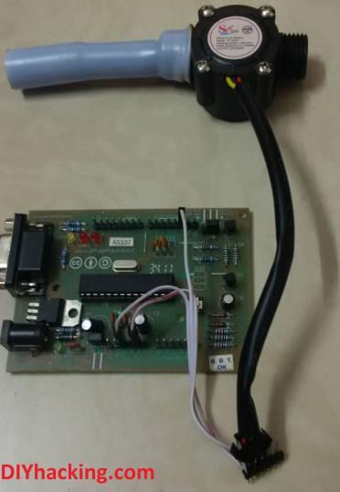 Arduino flow rate sensor tutorial DIY Hacking