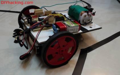 Raspberry pi webcam robot DIY Hacking