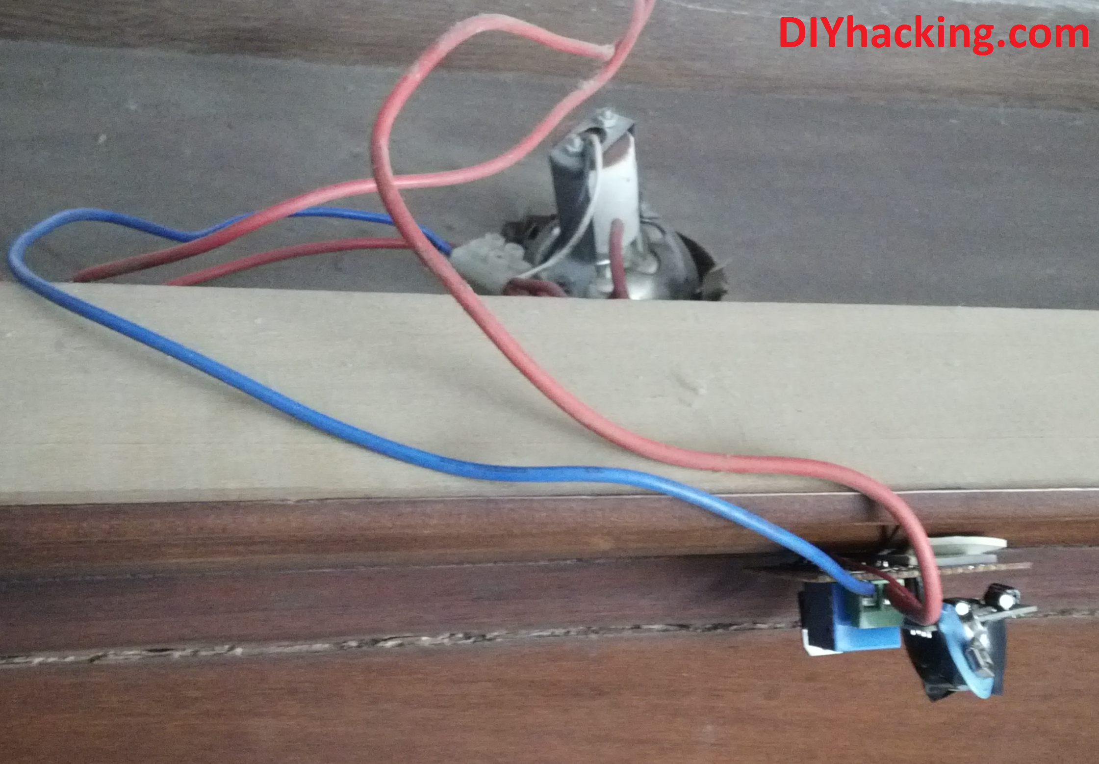 Beginner Project 2home Automation Using Pir Motion Sensor Pircontrolledledlightsensorcircuitpng Connection Diy Hacking