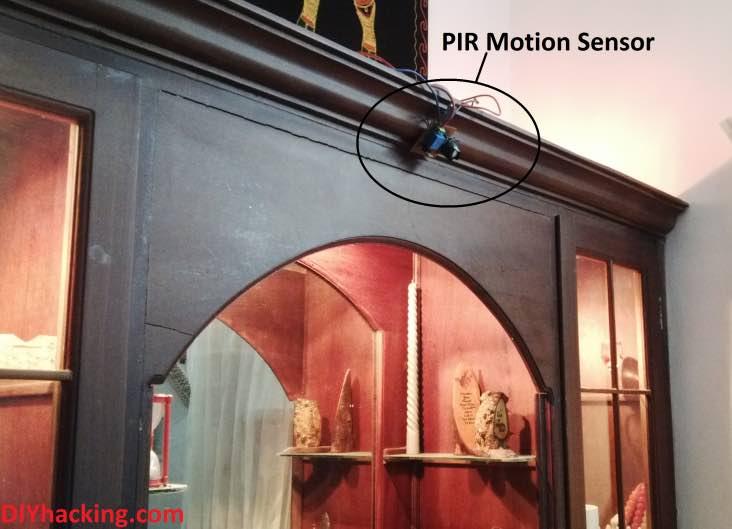 PIR motion sensor automation