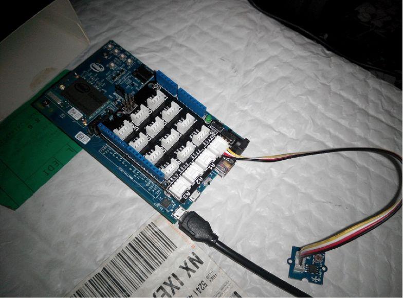 Home Automation Intel Edison Single board computer