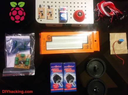 Raspberry Pi robot DIY Hacking
