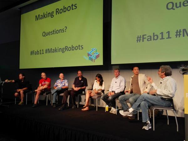 Making robots fab11