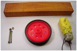 Arduino POV Display Mechanical Materials