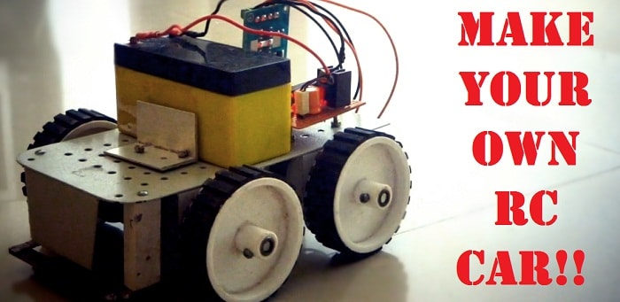 Tv Remote Controlled Car Circuit