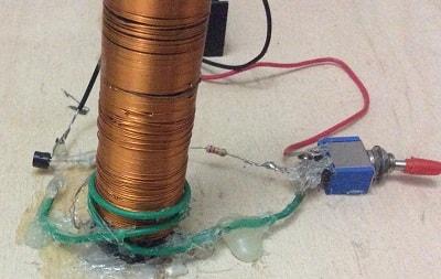 wireless power transmission tesla coil
