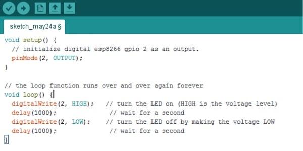 ESP8266 program