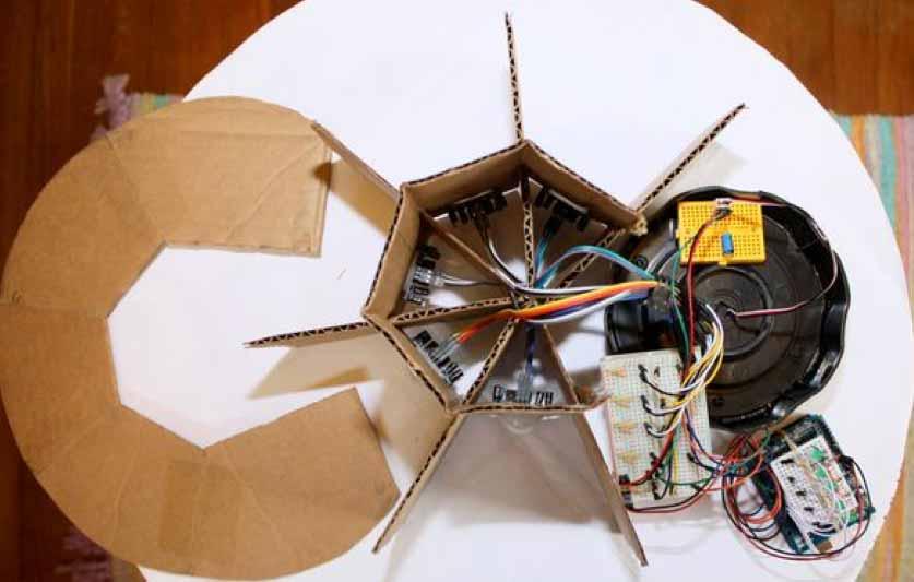 Arduino security camera