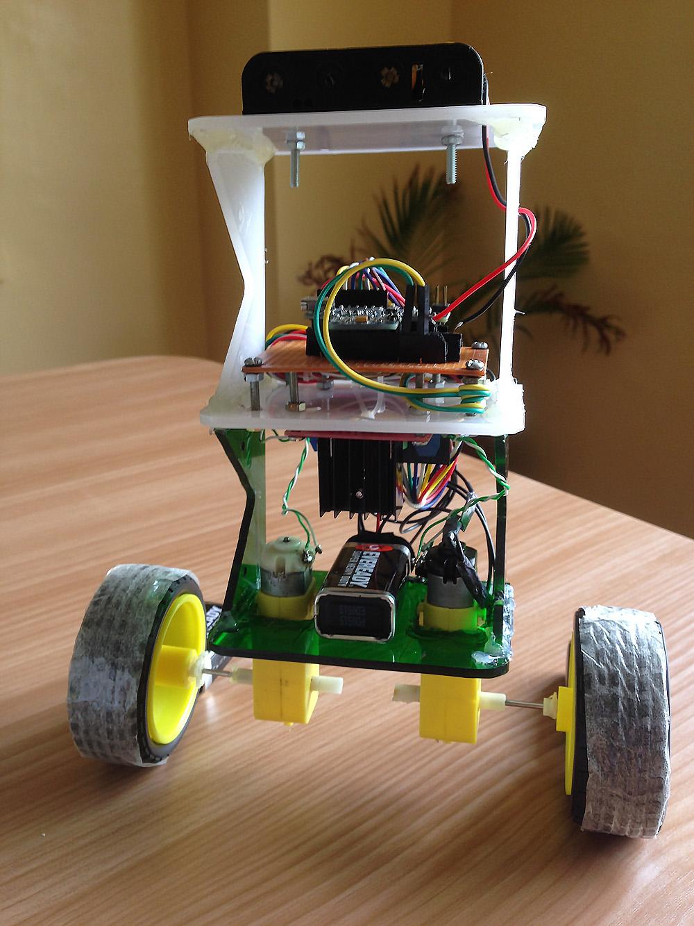 How to build an arduino self balancing robot diy hacking