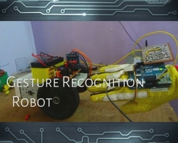 How to Control your Robot Using Arduino and Hand Gestures