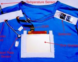 Electronic T-Shirt: How to Make a Sensor Filled Shirt